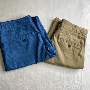 Tommy Hilfiger & Quiksilver Boys Shorts Size 16